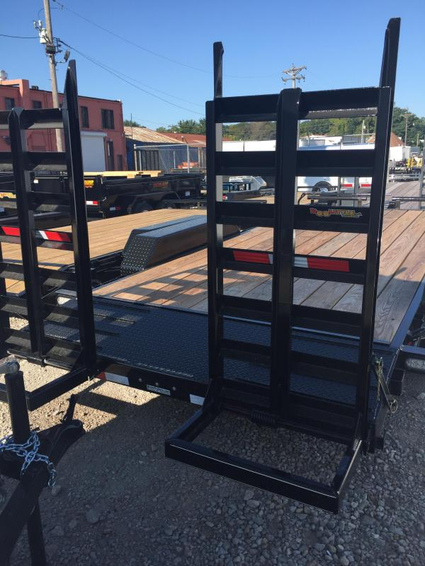 2019 Doolittle Trailer Mfg 82x18 Flatbed Trailer