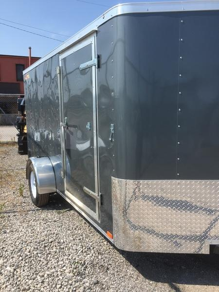 2018 Doolittle Trailers 6x12 Bullitt Single Axle 2990 lbs. GVWR