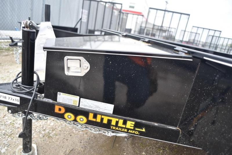 2018 Doolittle Trailers 77x10 SS Series 2990 GVWR