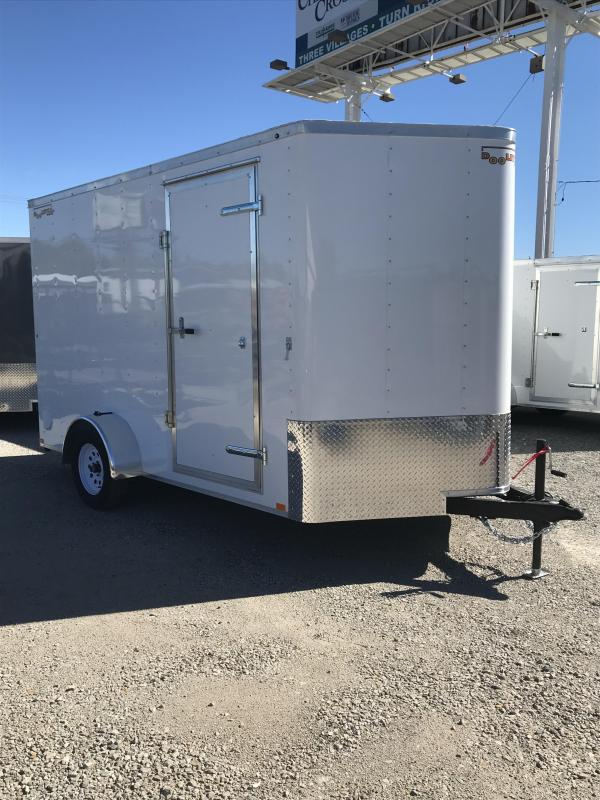 2019 Doolittle Trailer Mfg 7012 Bullitt Enclosed Cargo Trailer
