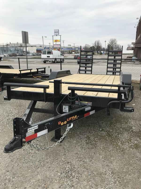 2019 Doolittle Trailer Mfg 82x18 Equipment Trailer
