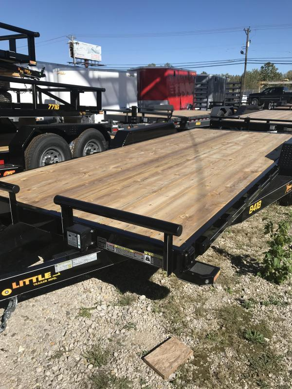2019 Doolittle Trailer Mfg 84x18 Equipment Trailer