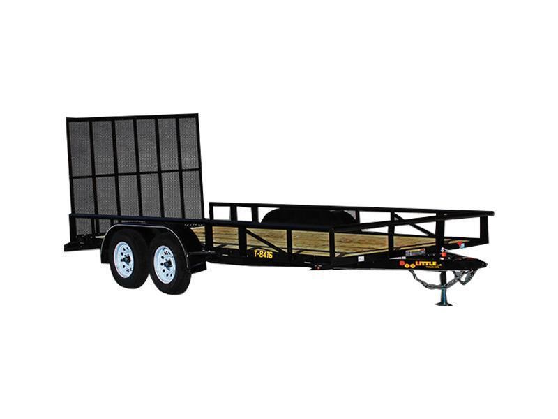 2018 Doolittle Trailers 840 Series 84x12 Single Axle 2990 lbs. GVWR