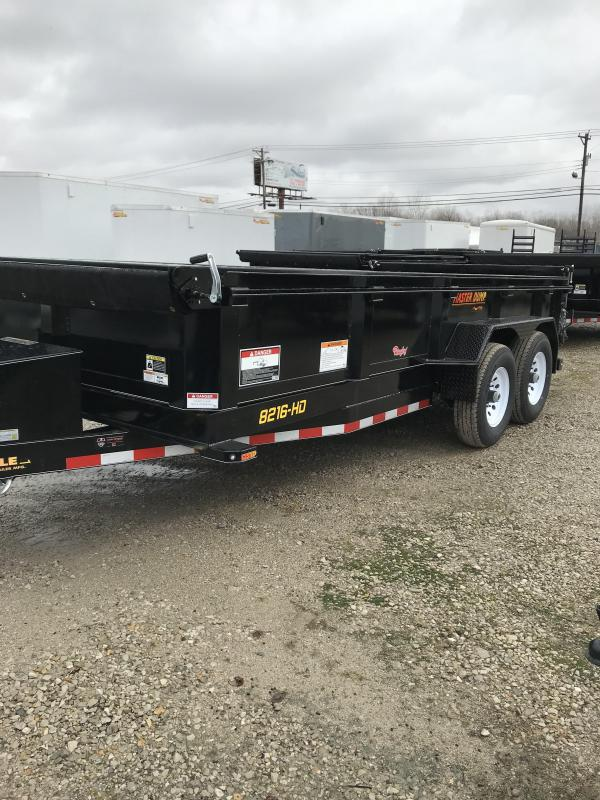 2019 Doolittle Trailer Mfg 82x16 MasterDump Dump Trailer