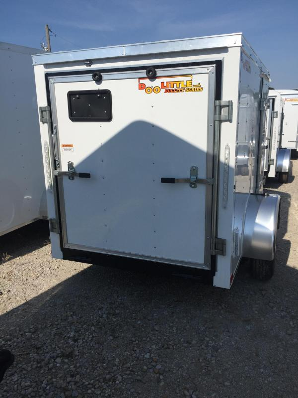 2019 Doolittle Trailer Mfg 5x8 Enclosed Cargo Trailer