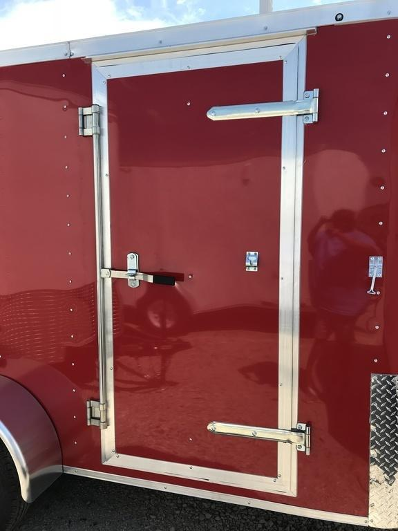 2018 Doolittle Trailers 6x10 Bullitt Single Axle 2990 lbs. GVWR