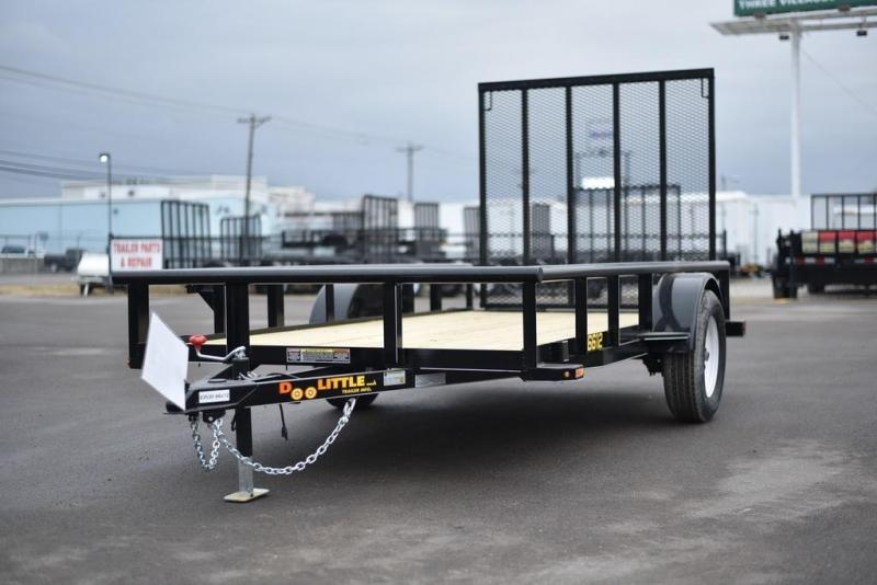 2018 Doolittle Trailers 660 Series 66x12 2990 GVWR