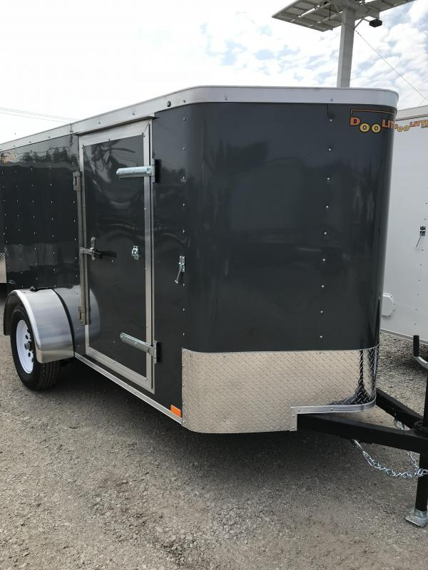 2020 Doolittle Trailer Mfg 5x10 Enclosed Cargo Trailer