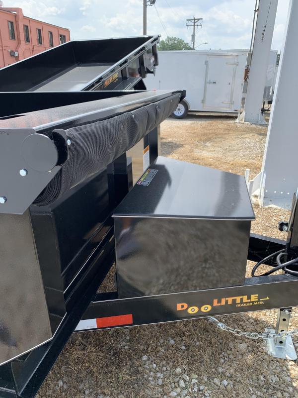 2020 Doolittle Trailer Mfg 72x12 Dump Trailer