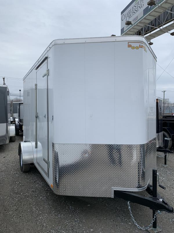 2019 Doolittle Trailer Mfg 7x12 Enclosed Trailer