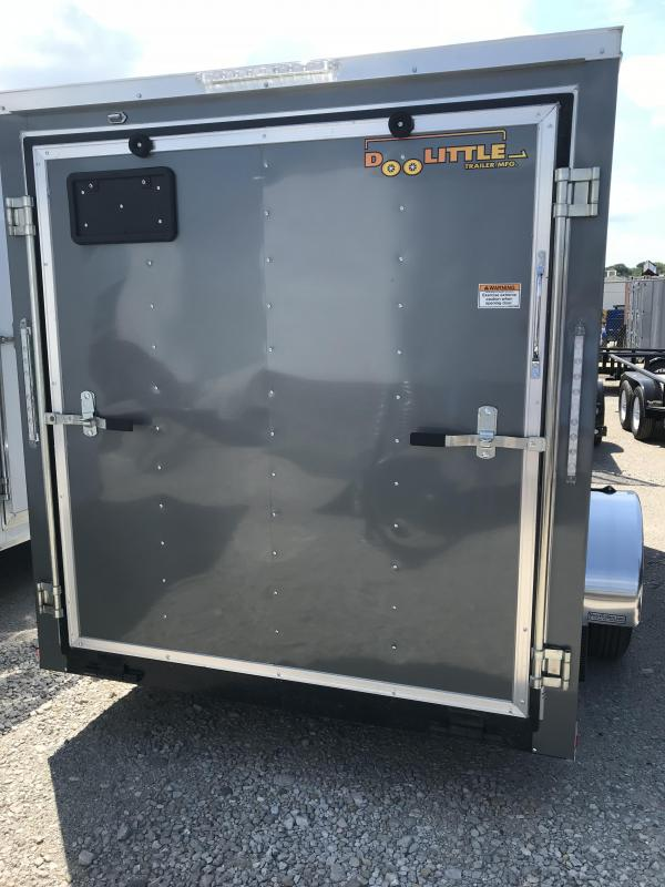 2019 Doolittle Trailer Mfg 6x10 Bullitt Enclosed Cargo Trailer