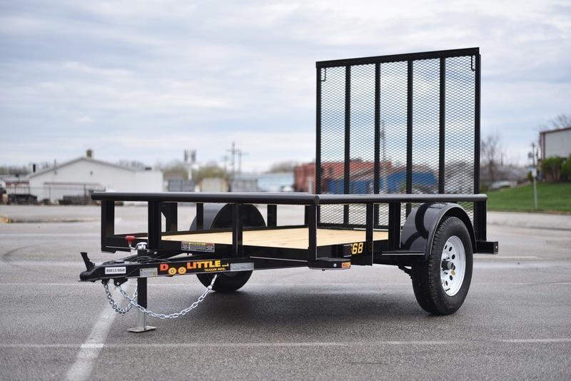 2018 Doolittle Trailers Rally 600 Series Single Axle 66x8 2990 GVWR