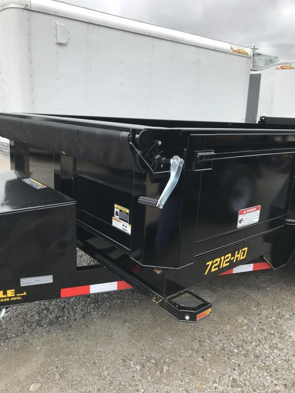 2019 Doolittle Trailer Mfg 72x12 Master Dump Trailer
