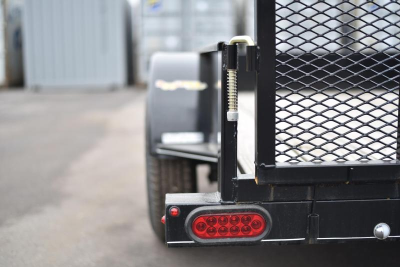 2019 Doolittle Trailer Mfg 77x10 SS Utility Trailer