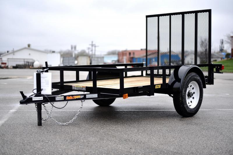 2019 Doolittle Trailer Mfg 60x8 rally sport Utility Trailer