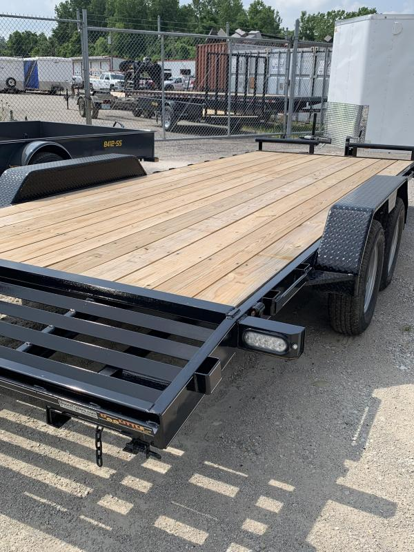 2019 Doolittle Trailer Mfg 84x20 Equipment Trailer