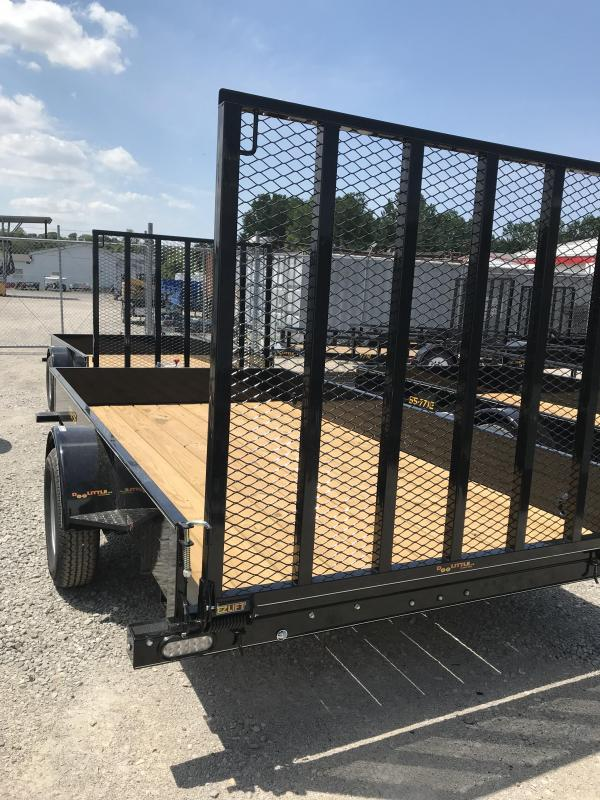 2019 Doolittle Trailer Mfg 77x12 SS series Utility Trailer