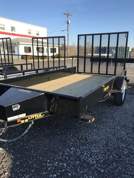 2018 Doolittle Trailers 77x12 SS Single Axle 2990 lbs. GVWR