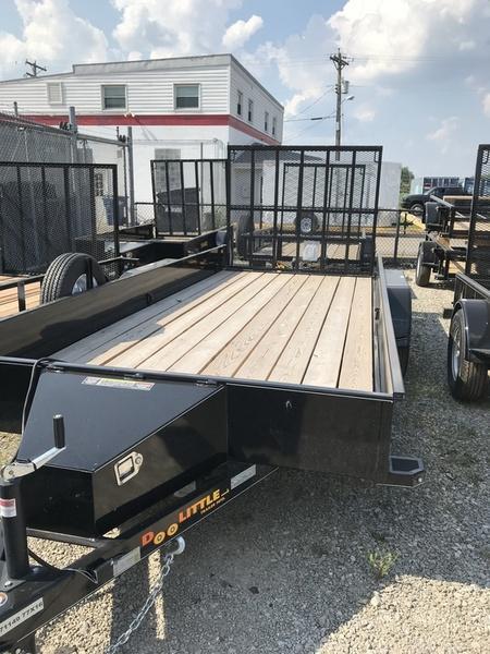 2018 Doolittle Trailers 77x16 SS Tandem Axle 7000 lbs. GVWR