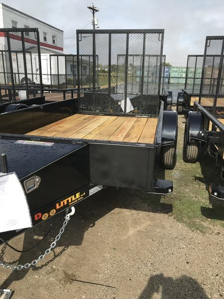 2018 Doolittle Trailers 66x10 SS Series 2990 GVWR