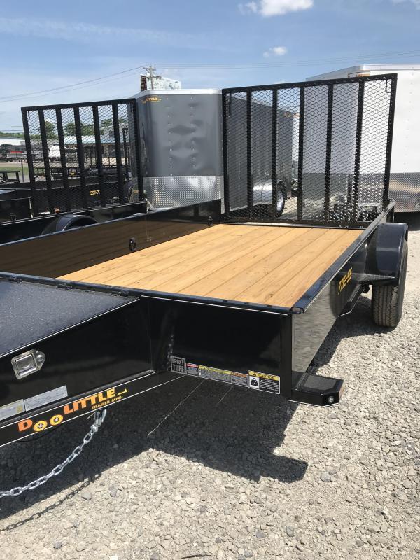 2019 Doolittle Trailer Mfg 77x12 SS series Utility Trailer