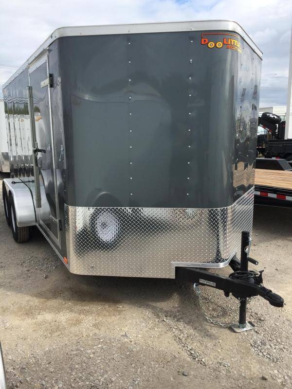 2019 Doolittle Trailer Mfg 7x14 Enclosed Cargo Trailer