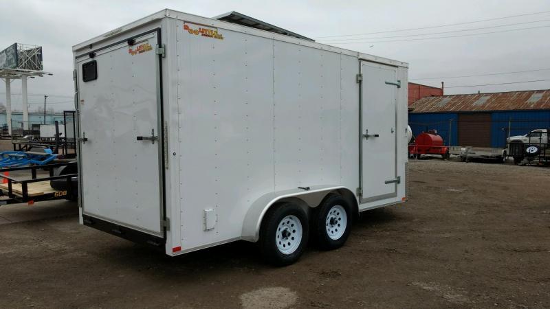 2020 Doolittle Trailer Mfg 7x14 Enclosed Cargo Trailer