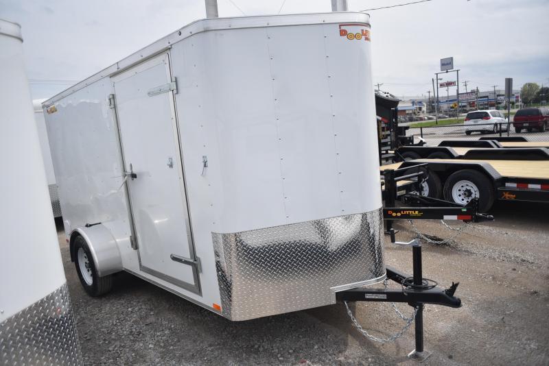 2019 Doolittle Trailer Mfg 6x12 Enclosed Cargo Trailer