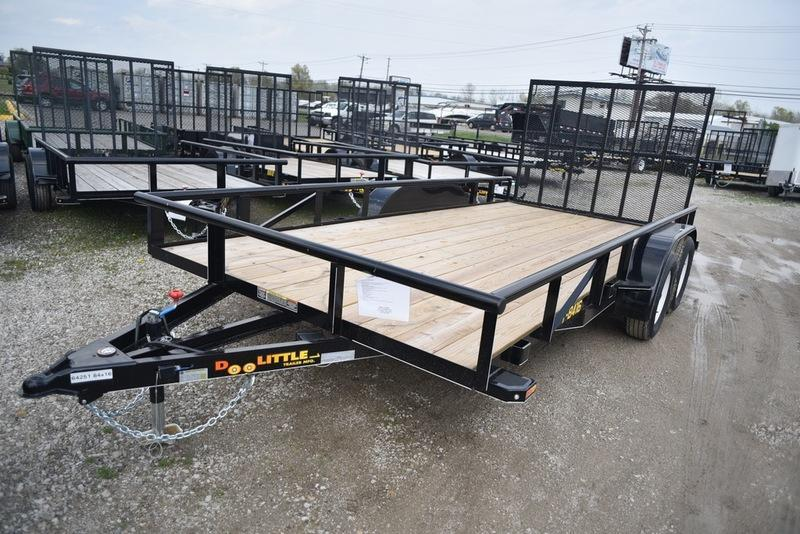 2018 Doolittle Trailers 840 Series 84x16 Tandem Axle 7000 lbs. GVWR