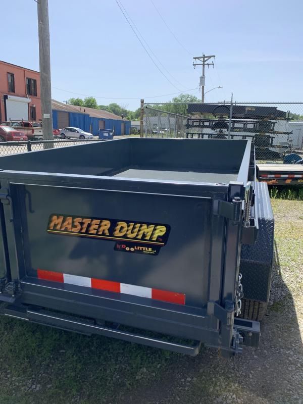 2019 Doolittle Trailer Mfg 82x14 Dump Trailer
