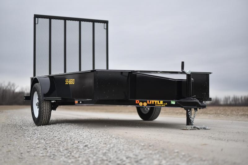 2019 Doolittle Trailer Mfg 66x10 SS Series Utility Trailer