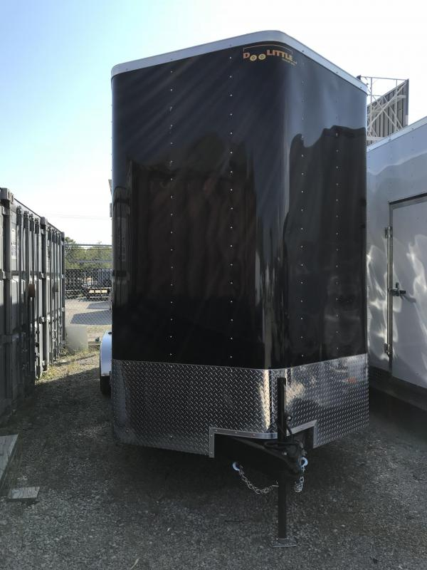 2019 Doolittle Trailer Mfg 7x18 Bullitt Enclosed Cargo Trailer