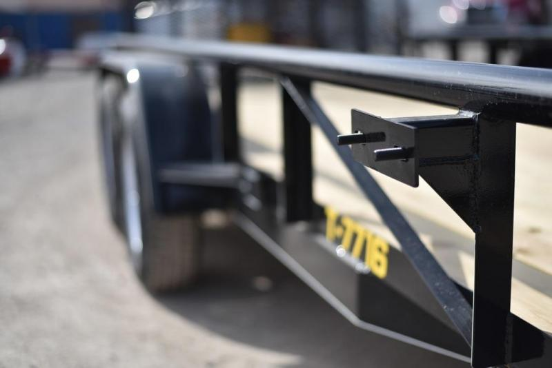 2018 Doolittle Trailers 770 Series 77x16 Tandem Axle 7000 lbs. GVWR