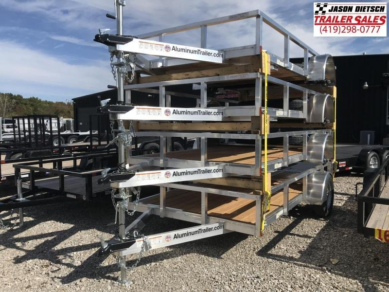 2019 ATC 6x12 All Aluminum Utility Trailer....Stock#AT-216357