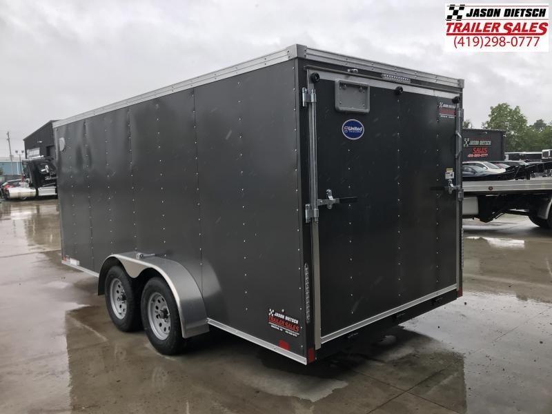 2020 United Trailers XLV 7x16 V-Nose Enclosed Cargo Trailer....Stock# UN-166169