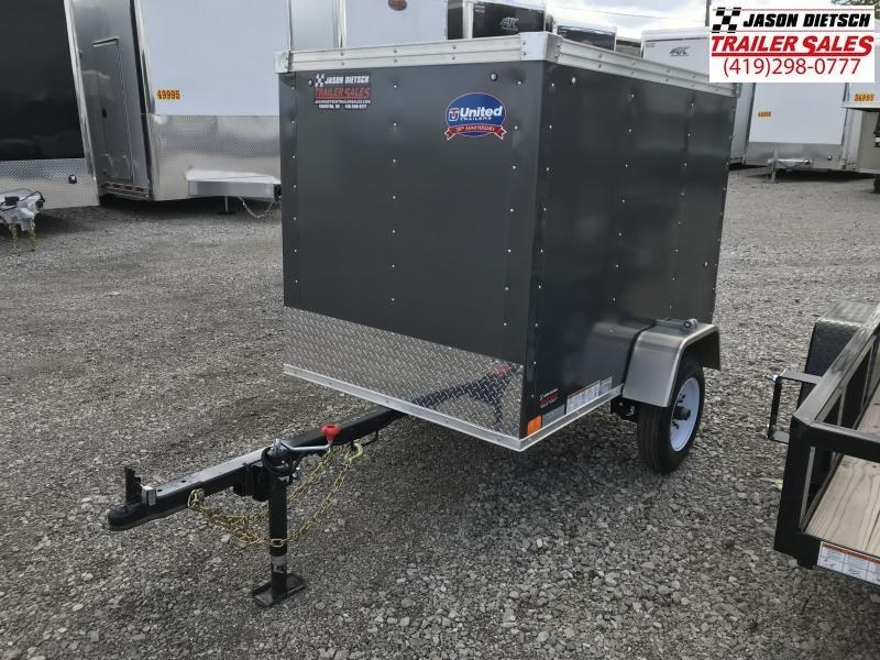 2019 United Trailers XLE 4X6 Enclosed Cargo Trailer....STOCK# UN-165149