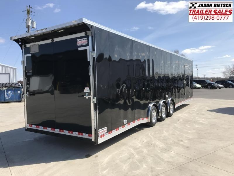 2020 United Trailer UXT 8.5x34 Enclosed Extra Height Carhauler....Stock#UN-166887
