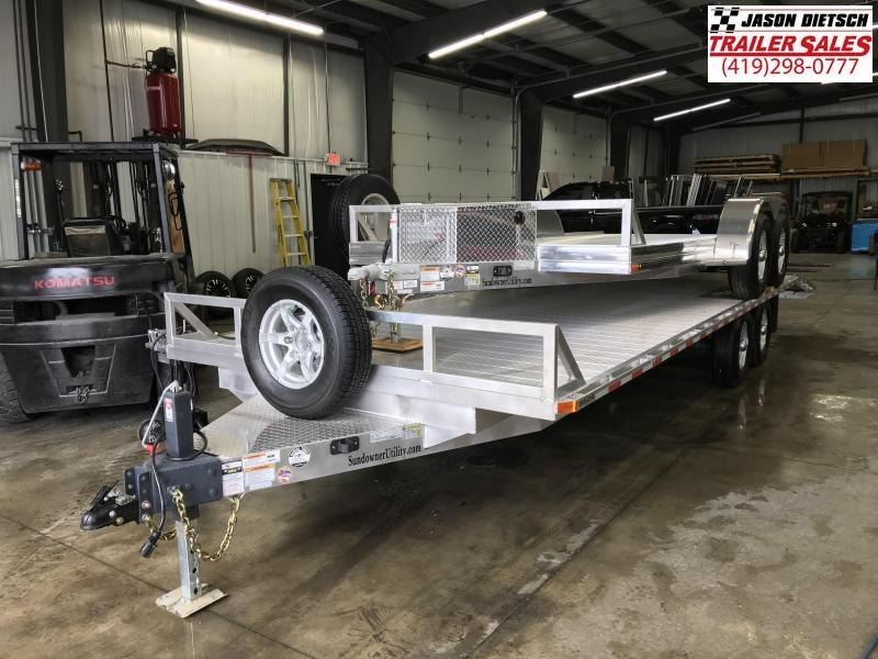 2019 Sundowner Trailers 6.9X16 Equipment Trailer....STOCK# SD-FA7504