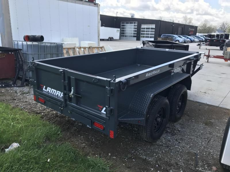 2019 Lamar Trailers 60X10 MINI Dump Trailer....STOCK# LM-078873