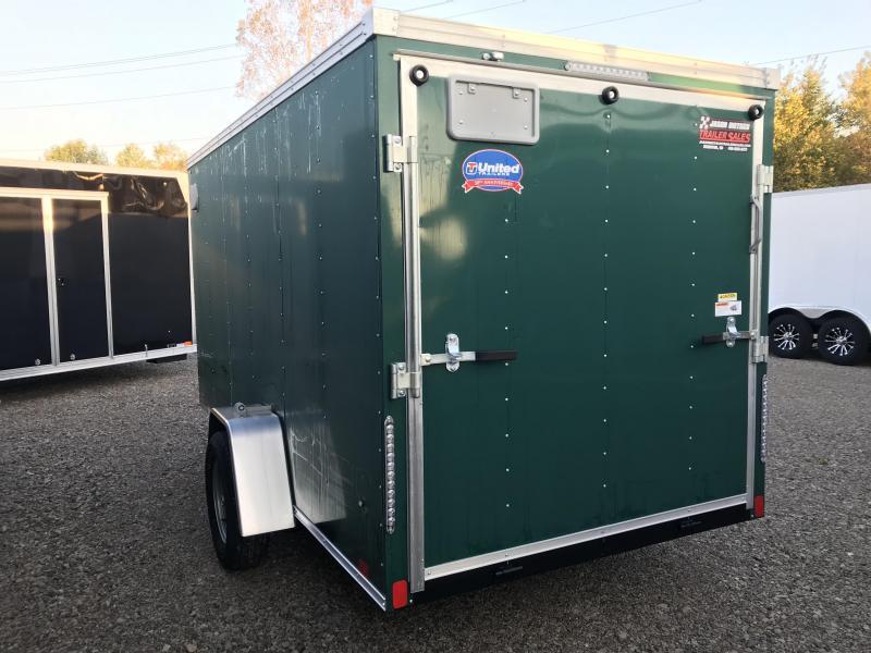 2019 United XLV 6X12 V-Nose Slant Enclosed Cargo Tr....Stock# UN-164367