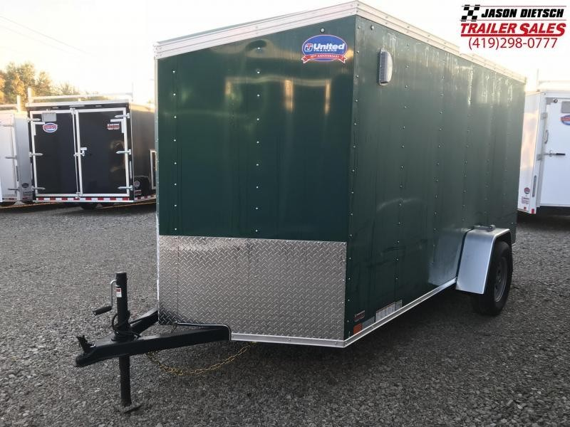 2019 United XLV 6X12 V-Nose Slant Enclosed Cargo Tr....Stock# UN-164367