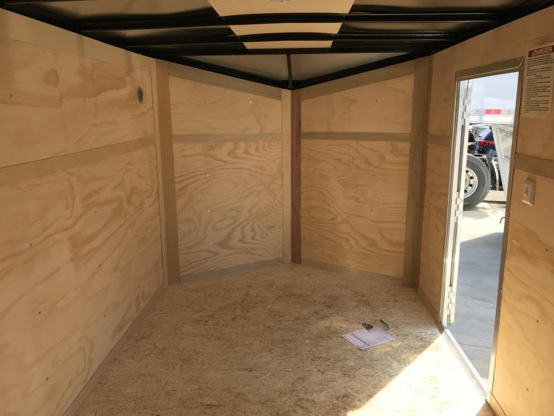 2019 United Trailers XLV 7x14 V-Nose Enclosed Cargo Trailer....Stock# UN-166141