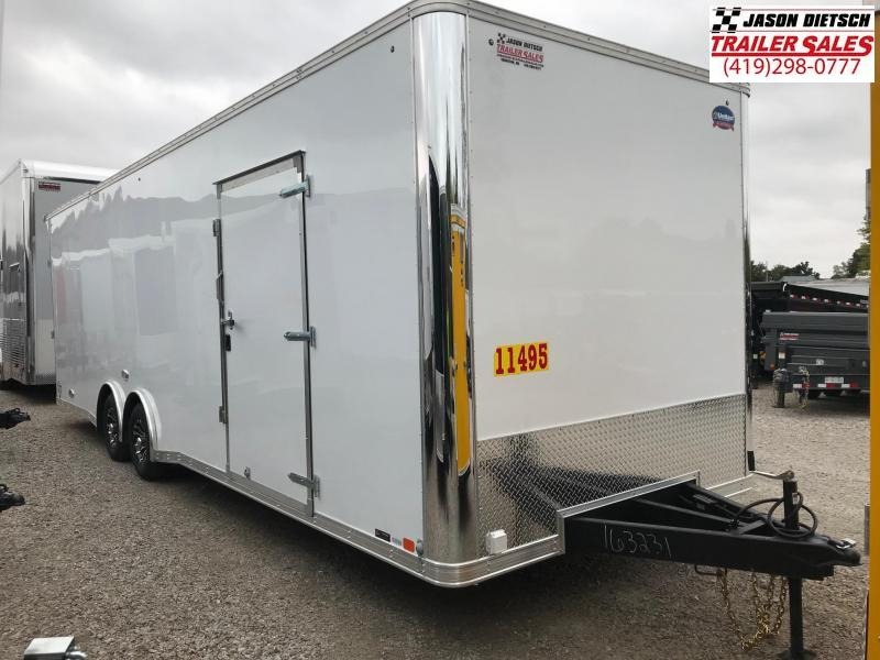 2019 United Trailers 8.5X28 EXTRA HEIGHT Car / Racing Trailer....Stock# UN-163231