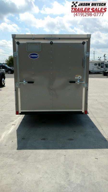 2020 United Trailers XLV 6X14 Enclosed Cargo Trailer....STOCK UN-169816