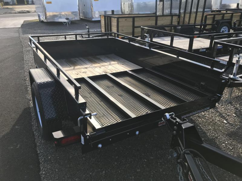 2018 SURE-TRAC 5x8 Steel High Side Trailer..... Stock # ST-1808