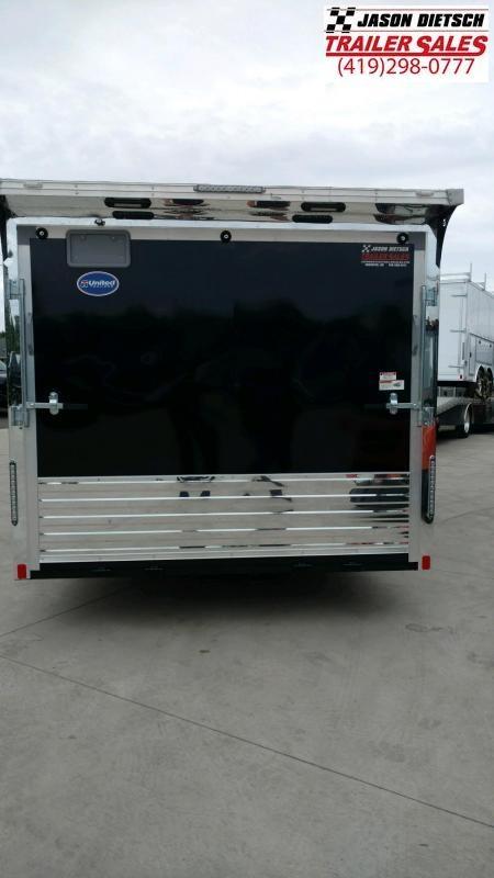 2020 United Trailer  8.5x30 Enclosed Race....Stock trailer #UN-166306