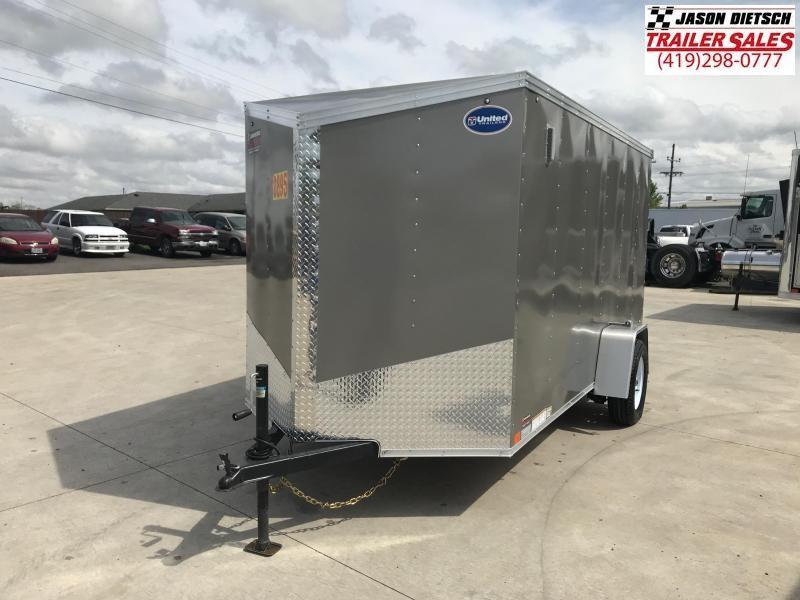 2020 United XLV 6X12 V-Nose Slant Enclosed Cargo Tr....Stock# UN-168823
