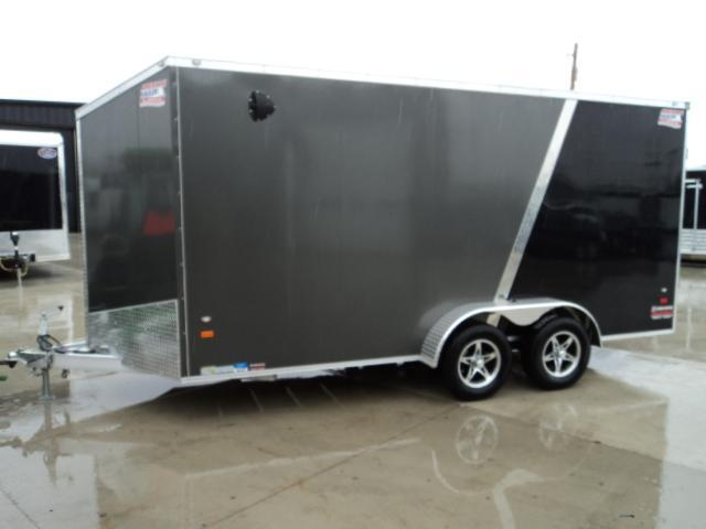 2018 American Hauler Industries 7X14 Enclosed Cargo Trailer...STOCK# AH064875