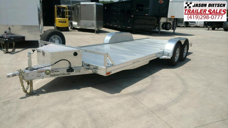 2020 sundowner Trailers 6.9X20 Equipment Trailer....STOCK# SD-FA8013