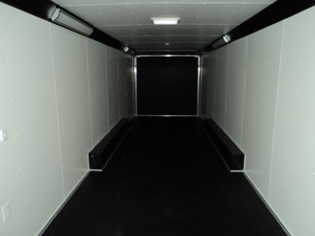 2018 United Trailer UXT 8.5x34 Enclosed Extra Height Carhauler....Stock#UN-161833